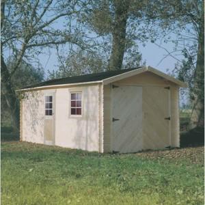 Garage en bois Solid 17,20m²