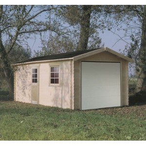 Garage en bois Solid 17,20m²