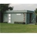 Garage en bois Moderne Solid 17,07m²