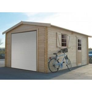 Garage en bois Solid 17,07m²