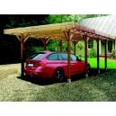 Carport en bois Solid 20,5m²