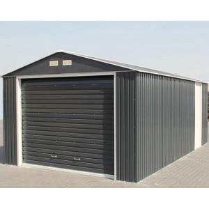 Garage métal grande hauteur Duramax 19,95m² anthracite
